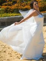 Mariana Hardwick Ivory Wedding Dress - Size 10