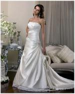 Beautifully Elegant - Ivory Gown with Lace by Essense