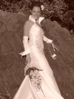 Wedding Dress European Belgium Design incl accessories