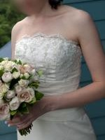 Beaded Ivory Wedding gown