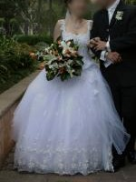 Gorgeous Wedding Gown by Lora Ellis designer