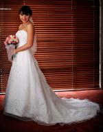 Absolutely Stunning Alfred Angelo Strapless Wedding Dress