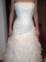 BRAND NEW Beaded Tulle/Organza Bridal Gown - Never worn