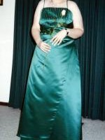 Gorgeous Emerald Green Mr K Formal Dress