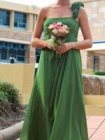 Three Stunning Forest/Willow Green Bridesmaid Dresses - By Bari Jay