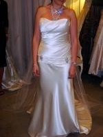 Timeless & Elegant Strapless Wedding Dress by Marianna Hardwick