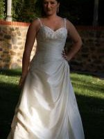Gorgeous Champagne Gown by Essense of Australia