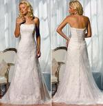 Stunning 'D714' Lace Overlay Essense of Australia Wedding Dress