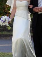 Strapless Wedding Dress - Ivory
