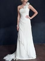 Mariana Hardwick 'Iris' - Classic One-Shoulder Wedding Dress