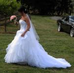 Beautiful Mariana Hardwick 'Dora Doll' Wedding Gown