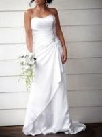 Stunning Mariana Hardwick Strapless Wedding Dress