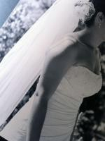 Beautiful Strapless Designer Wedding Dress by Mariana Hardwic