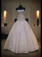 Strapless Wedding dress by Personalised Weddings Couture