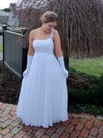 Gorgeous One Shoulder Bridal/Formal Gown