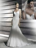 Pronovias ' Patty' - Stunning Fishtail Lace Dress