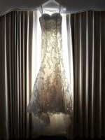 Pronovias Frase Lace Wedding Gown in Excellent Condition