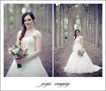 Beautiful petite wedding dress- Pronovias Jenny