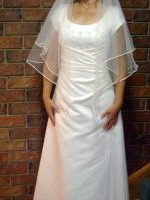 Wedding / Formal Dress ( rare cap sleeve) By MR K