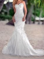 Gorgeous Strapless, Sweetheart Neckline. Essense Stella York 5468