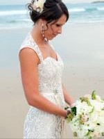 Gorgeous Lace Wedding Gown by Wendy Makin