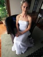 Elegant strapless long and fitted gown by Winnie Bridal. Professionally cleaned and boxed by Silver Service.