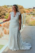 All over Lace Wedding Dress