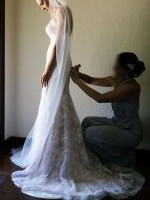 Couture Strapless Wedding Dress