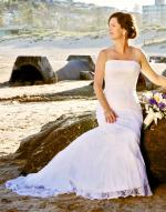 Beautiful Lace Wedding Dress by Essense of Australia