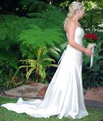 Strapless Alfred Angelo Wedding Dress