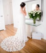 Exquisite vintage style gown by Bridal Chic