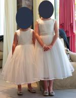 Beautiful flower girl dresses with embellished belt detail