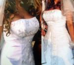 Beautiful Barbra Calabro Size 12 Wedding Dress