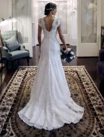 Elegant Lace 'Madison Revamp' Gown by Mariana Hardwick