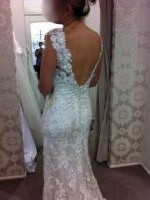Never worn, Allure wedding dress style 8800 size 12 ivory