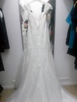 Alfred Angelo (Style 2440) Vintage Lace Style Dress
