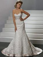 Strapless Slim ALine Sottero and Midgley 'Katharine' VSM7097