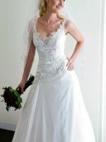Stunning Ise Ivory Wedding Gown by Bridal Chic