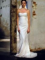 Karen Willis Holmes Strapless Wedding Gown Size 10