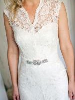 Vintage Lace Wedding Gown by Mariana Hardwick Plus Accessories