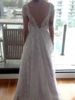 Never Worn Custom Made Lace Wedding Gown