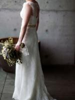 Elegant Karen Willis Holmes 'Rachel' Wedding Gown