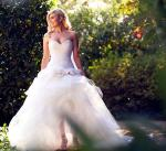 Custome made Pallas Couture Wedding Dress
