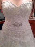 Brand New with tags Strapless Nicolina Gown!