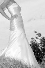 Maggie Sottero- Madison strapless ivory wedding gown size 8 aus