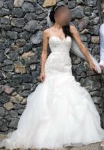 Stunning Strapless Mermaid Style Wedding Dress by BRIDAL CHIC
