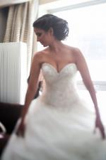 Stunning Princess Sweetheart Wedding Dress