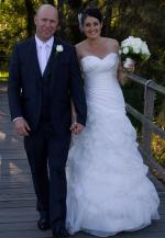 Stunning Strapless Essense of Australia Wedding Dress