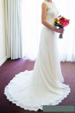 Stunning Ivory A-Line Wedding Dress
