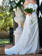 Strapless Tuscany Bridal Wedding Dress with Swarovski Crystal